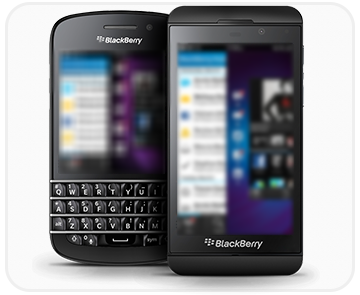 BlackBerry mobiles